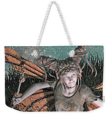 She Belongs -- With  Weekender Tote Bag by Betsy Knapp