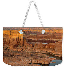 Weekender Tote Bag featuring the photograph A Slice Of Alstrom by Dustin LeFevre