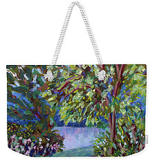 A Slice Of River Weekender Tote Bag