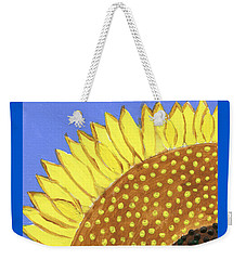 A Slice Of Sunflower Weekender Tote Bag