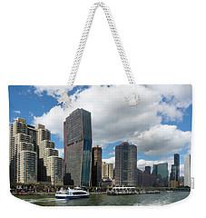 A Slight Bend Weekender Tote Bag