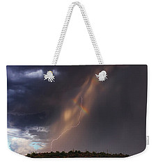 Weekender Tote Bag featuring the photograph A Sliver Of Color by Rick Furmanek