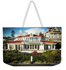 A Small Cottage At The Hotel Del Coronado Weekender Tote Bag