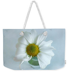 Weekender Tote Bag featuring the photograph A Small Pleasure by Louise Kumpf