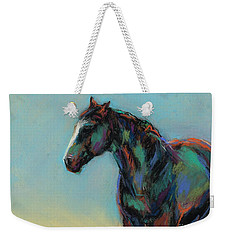 Weekender Tote Bag featuring the pastel A Soft Breeze by Frances Marino