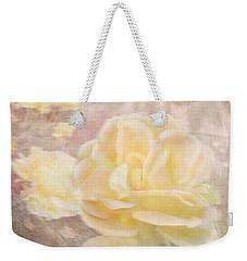A Softer Rose Weekender Tote Bag