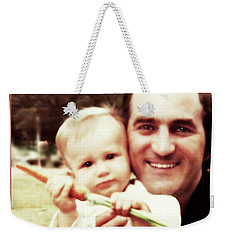A Son, A Father And A Juicy Carrot Weekender Tote Bag
