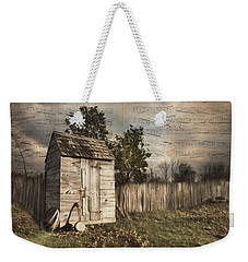 Weekender Tote Bag featuring the photograph A Song Before You Go by Robin-Lee Vieira
