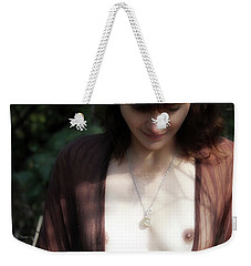 Weekender Tote Bag featuring the photograph A Song Of Autumn  by Jacob Smith