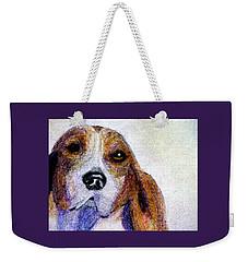 A Soulful Hound Weekender Tote Bag