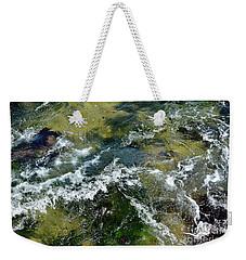 A Sparkling Ocean Palette Weekender Tote Bag