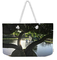 A Splash Weekender Tote Bag