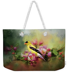 A Splash Of Joy Bird Art Weekender Tote Bag