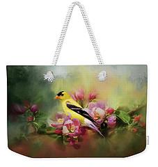 A Splash Of Joy Bird Art Weekender Tote Bag