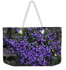 A Splash Of Purple Weekender Tote Bag