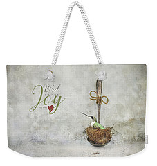 A Spoonful Of Hummingbird Weekender Tote Bag
