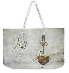 A Spoonful Of Hummingbird Weekender Tote Bag