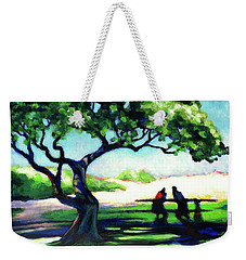 A Spot Of Sun Weekender Tote Bag by Angela Treat Lyon