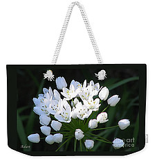 A Spray Of Wild Onions Weekender Tote Bag by Felipe Adan Lerma