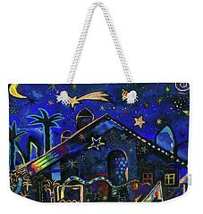 a star in Bethlehem Weekender Tote Bag