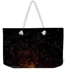 A Star Is Fallen Weekender Tote Bag by Rainer Kersten