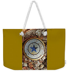 A Star Is Still A Star Even If It's Rusty Weekender Tote Bag