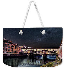 A Starry Starry Night In Florence, Italy Weekender Tote Bag