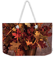 A Still Life For Autumn Weekender Tote Bag