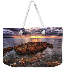 A Storm Is Brewing Weekender Tote Bag