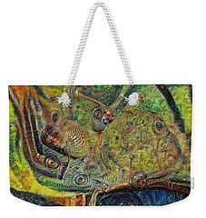 A Strange Forest Weekender Tote Bag