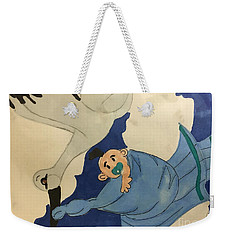 A Stroke  Weekender Tote Bag