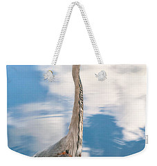 Weekender Tote Bag featuring the photograph A Stroll Among The Clouds by Christopher Holmes