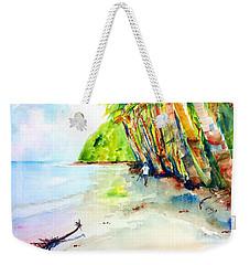 A Stroll On Batibou Beach Dominica Weekender Tote Bag by Carlin Blahnik