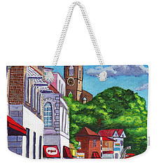 A Stroll On Melville Street Weekender Tote Bag