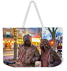 A Stroll Through Davis Square Somerville Ma Weekender Tote Bag