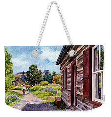 A Stroll Through Time Weekender Tote Bag