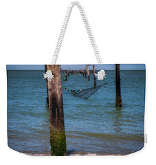 A Study Of Threes Weekender Tote Bag by David Cote
