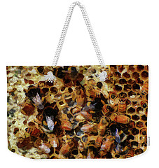 Weekender Tote Bag featuring the photograph A Sugar Rush by Steve Taylor