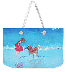 A Summer Breeze Weekender Tote Bag by Jan Matson