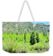 A Summer In The Mountains Weekender Tote Bag by Marilyn Diaz