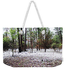 A Summers Snow Weekender Tote Bag by Natalie Ortiz