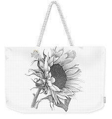 A Sunflowers Beauty Weekender Tote Bag by Patricia Hiltz