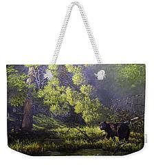 A Sunny Meadow Weekender Tote Bag