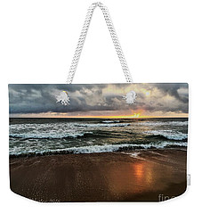 A Sunrise Over Kitty Hawk Weekender Tote Bag by Linda Mesibov