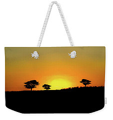 A Sunset In Namibia Weekender Tote Bag by Ernie Echols