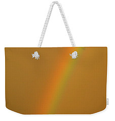 A Sunset Rainbow Weekender Tote Bag
