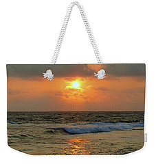 Weekender Tote Bag featuring the photograph A Sunset To Remember by Lori Seaman