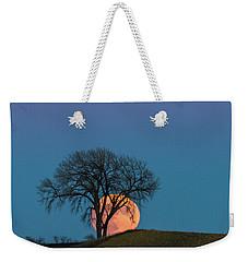 A Super Evening Weekender Tote Bag