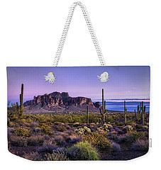 A Superstitious Evening  Weekender Tote Bag