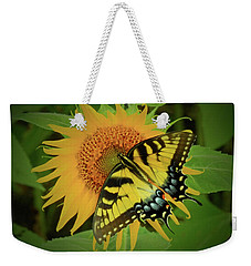 A Swallowtail Butterfly Weekender Tote Bag by Scott Cameron